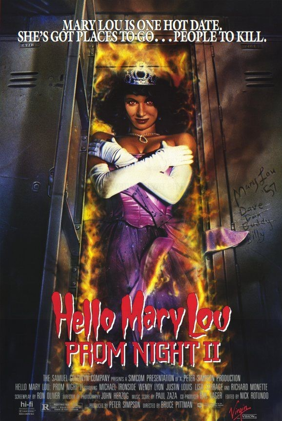 """31-Days-of-Horror-Hello-Mary-Lou-Prom-Night-2-1987-Promotional-Poster-Box-Art """"31 Days of Horror"""" Day 7: """"Hello Mary Lou: Prom Night II"""" (1987) Movies Reviews"""