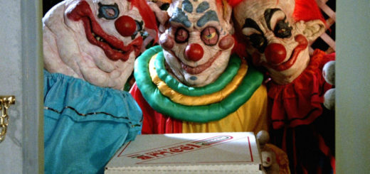 31 Days of Horror Killer Klowns from Outer Space 1988 Three Clowns with Pizza Delivery