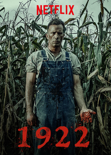 """31-Days-of-Horror-Netflix-1922-Stephen-King-2017-Full-Dark-No-Stars-Promotional-Poster-Box-Art """"31 Days of Horror"""" Day 15: """"1922"""" (2017) Movies Reviews"""