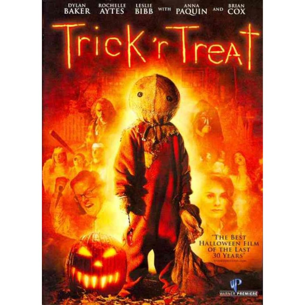 """31-Days-of-Horror-Trick-R-Treat-2007-Five-Tales-of-Terror-Promotional-Poster-Box-Art-1024x1024 """"31 Days of Horror"""" Day 31 - Part One: """"Trick 'R Treat"""" (2007) Movies Reviews"""