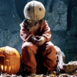 Screen-Shot-2019-10-27-at-8.48.06-PM31 Days of Horror Trick R Treat 2007 Five Tales of Terror Sam in Costume with Pumpkin Jack o Lantern